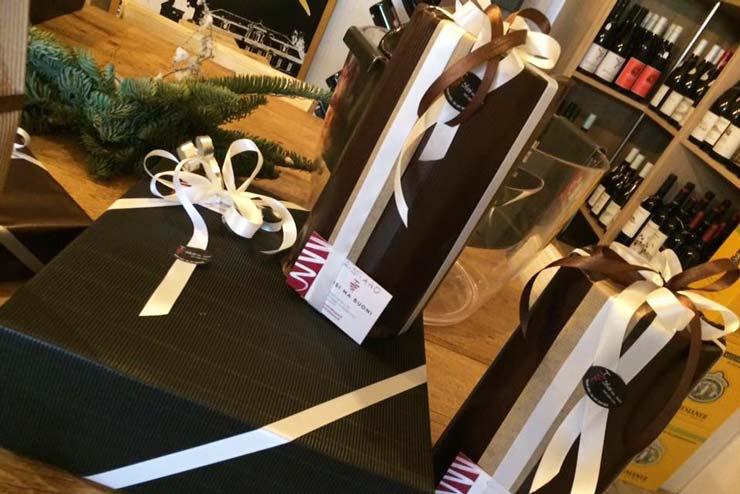 Confezioni regalo e ceste natalizie a Noale e Treviso, Sfusi ma Buoni