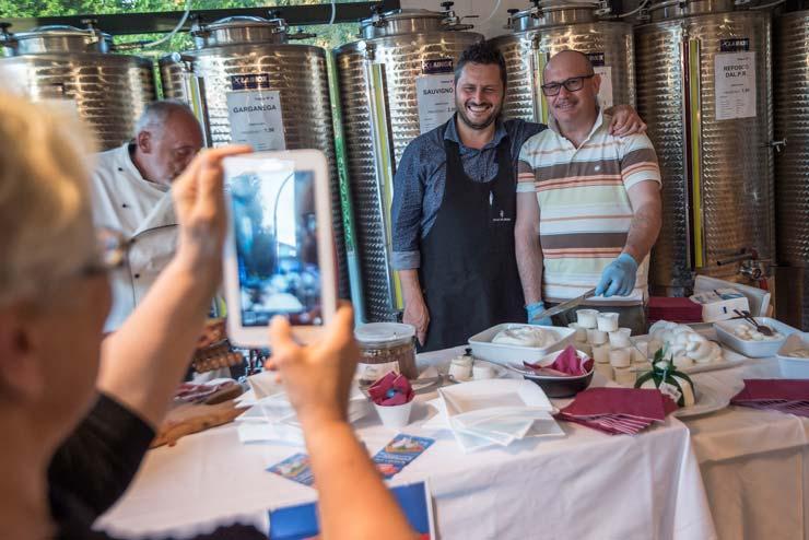Degustazioni di vino a Noale e Treviso, Sfusi ma Buoni